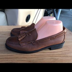 BASS Brown Slip On Penny Genuine Leather Shoes
